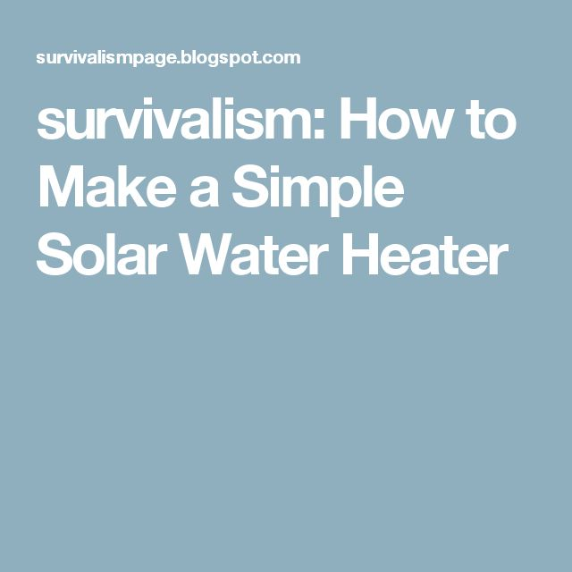 17 best ideas about water heaters on pinterest solar for Sewer liners pros and cons