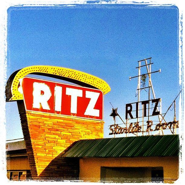 Festive vintage neon signs in Grand Prairie, Texas. by MOLLYBLOCK, via Flickr