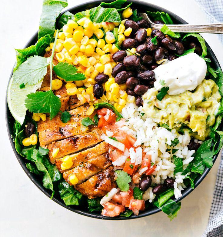 Chicken Burrito Bowl - Omad Diet