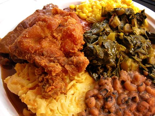Soul Food Dinner Sandy Says Southern In Harlem New York City Usa 2018 Recipes