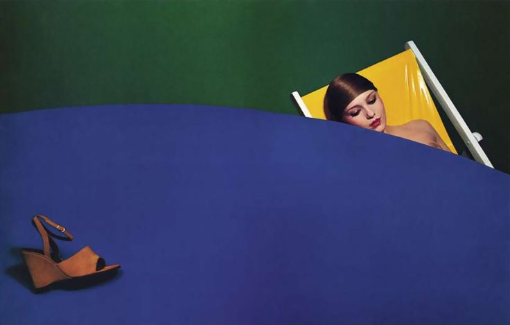 Guy Bourdin. Charles Jourdan 1974 summer