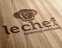 Le Chef Logo Template by Ramzi Hachicho, via Behance