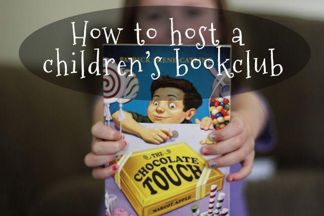 Hosting a Children'sBookclub. Love this idea! // parscaeli