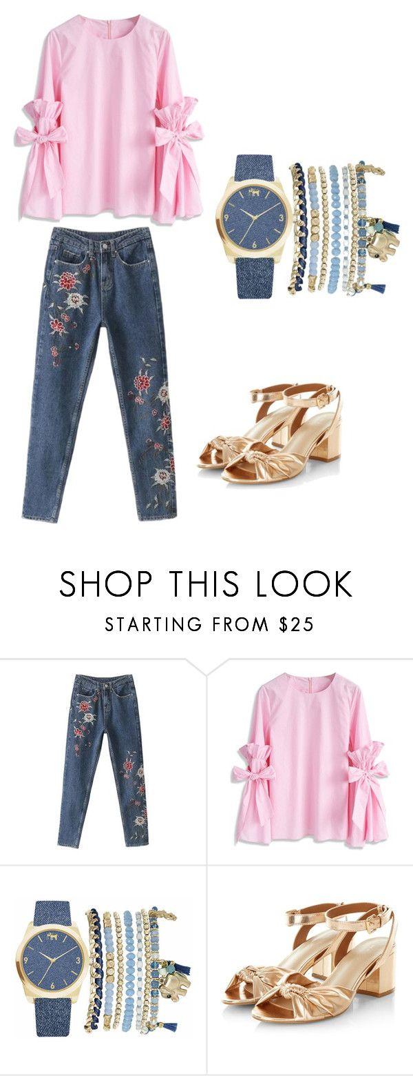 """""""set2"""" by sdelanodoma on Polyvore featuring мода, Chicwish и Mixit"""