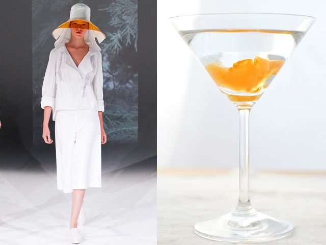 Chalayan ss 2013 / A Martini in a modern version