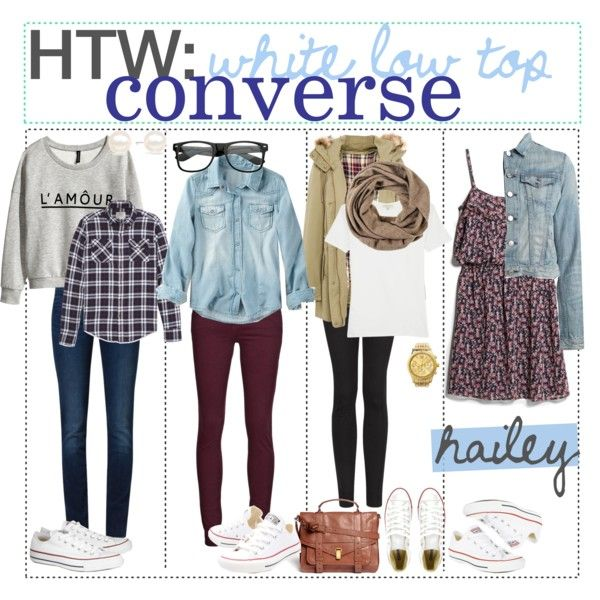 White Converse Tumblr Outfits
