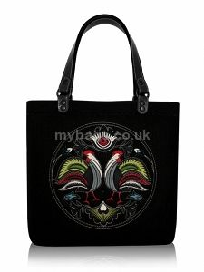 GOSHICO embroidered tote bag NEW FOLK http://mybags.co.uk/goshico-embroidered-tote-bag-new-folk.html