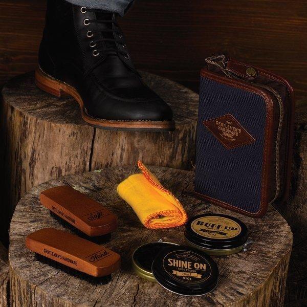 GENTLEMEN'S HARDWARE | Shoe Polish Kit - Canvas https://seethis.co/1yA9n7/ Click for more.. #gentlemanshardware #botanex #botanexstore #qualityproducts #wantone