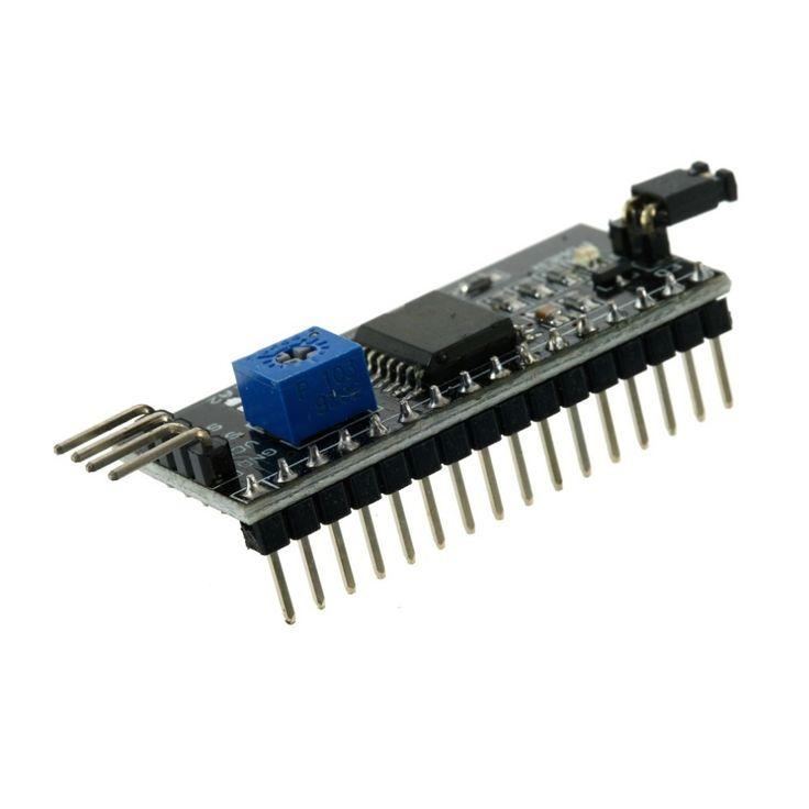 Совета Порта Модуля IIC/I2C/TWI/SPI Последовательный Интерфейс Для Arduino 1602 ЖК WI-FI Интернет Вещей Совет по развитию
