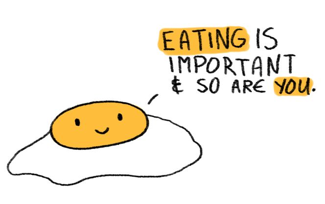 Eating in important | Self-care | Healthy habits |  Emm's Positivity Blog