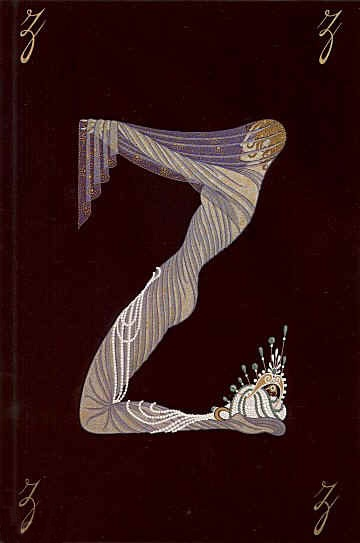 Erté's Illustrated Typography.