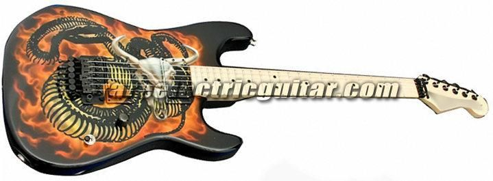 Charvel USA Custom Shop Strat 'Snake & Skull' Electric Guitar price:$0 - Electric Guitars for sale