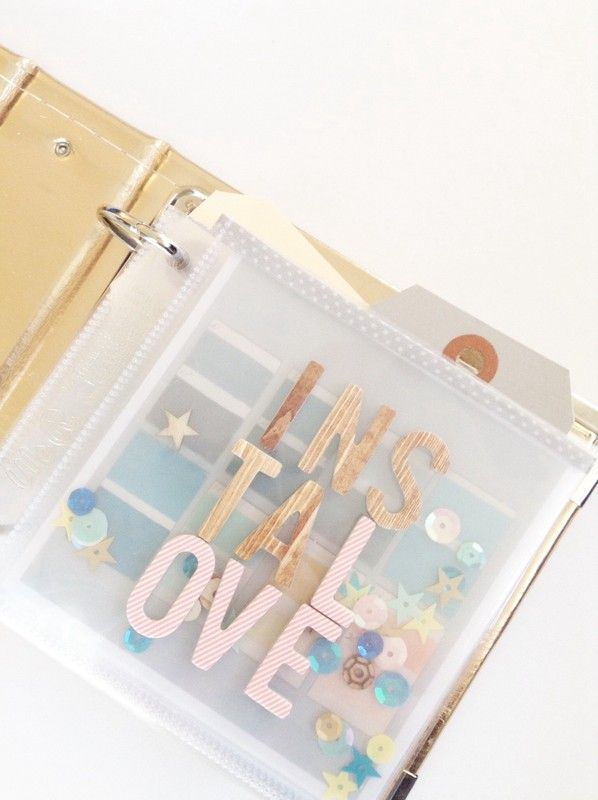 Instalove Mini Album by littlelamm at @studio_calico