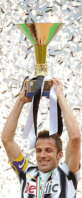 Juventus Football Club y Del Piero.