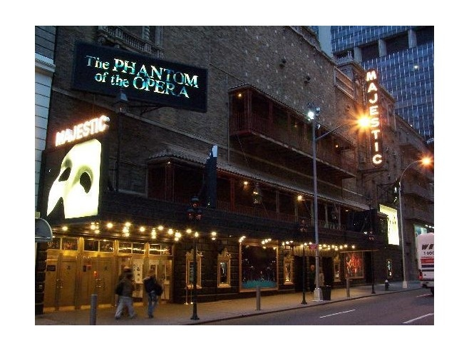 Phantom of the Opera, The Majestic Theatre, New York City Broadway