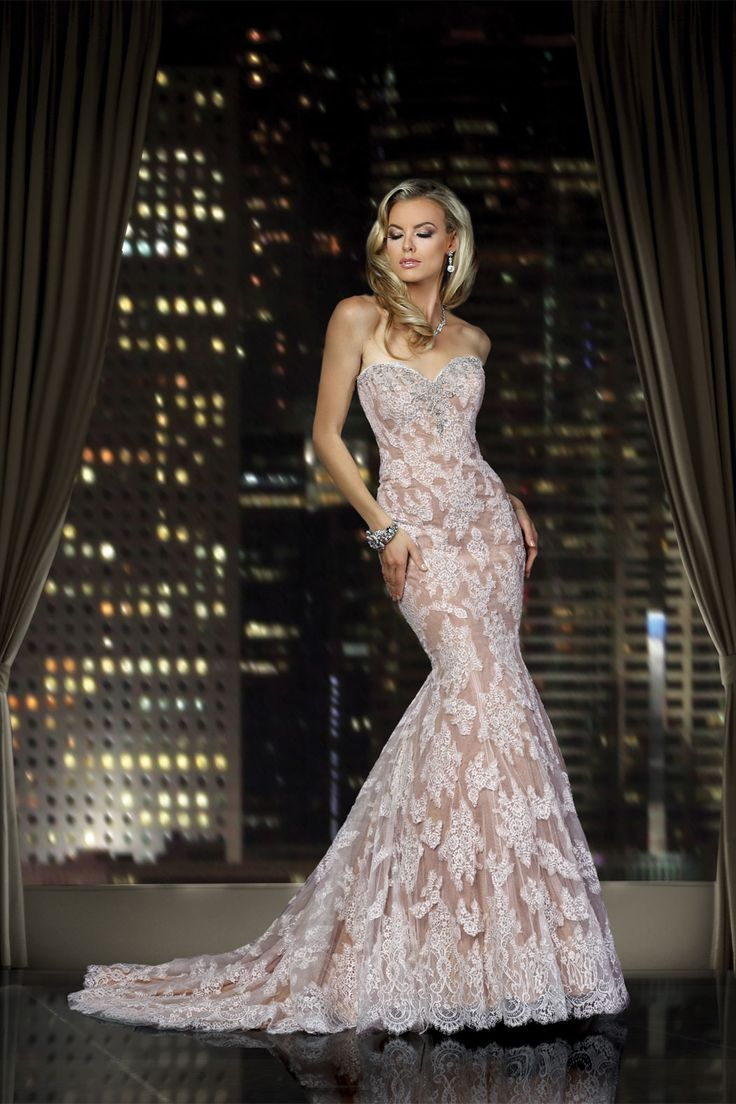 38 best images about blush pink wedding dresses on for Wedding dresses galleria houston