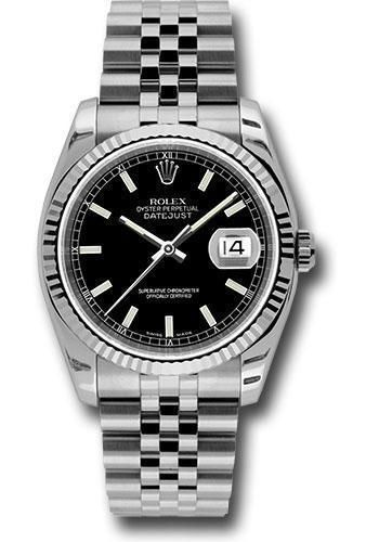 Rolex Oyster Perpetual Datejust 36 Watch 116234 bksj