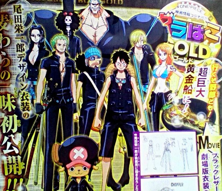 One Piece Gold Chapeau de Paille
