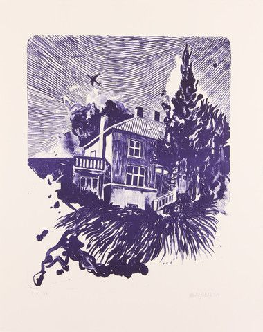 Lithography (Purple House) – mortenschelde.com