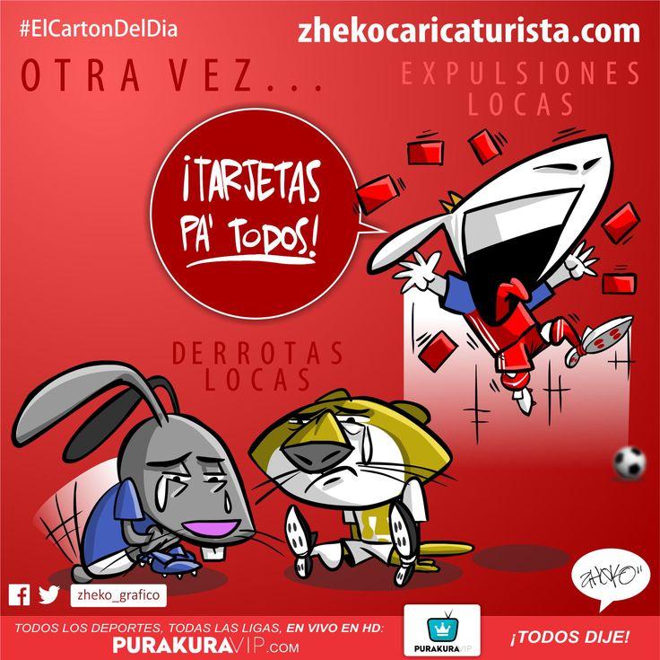 """""""¡OTRA VEZ!"""" www.zhekocaricaturista.com El cartón del día, caricaturas deportivas, zheko, zheko_grafico, haz tu caricatura, como hacer mi caricatura, caricaturas personalizadas, humor, funny, quiero mi caricatura, Futbol, Liga MX, chivas, Pumas, Cruz Azul, chivas no se va"""