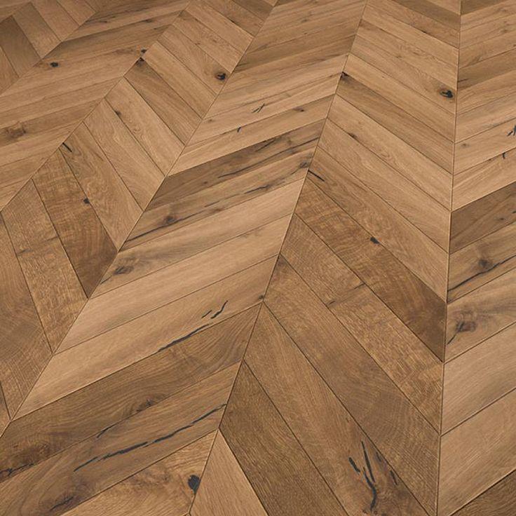 Solidfloor Parkett create your floor Fischgrat Eiche Christchurch gebürstet gefast natur geölt