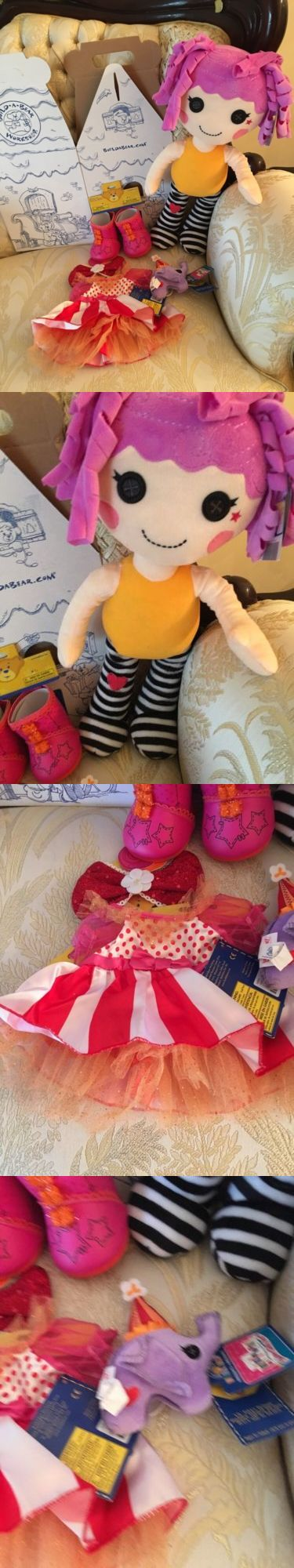 Pillow Pals 1633: Build A Bear Lalaloopsy Peanut Big Top Stuffed Outfit Shoes Pet Bundle New -> BUY IT NOW ONLY: $79.99 on eBay!