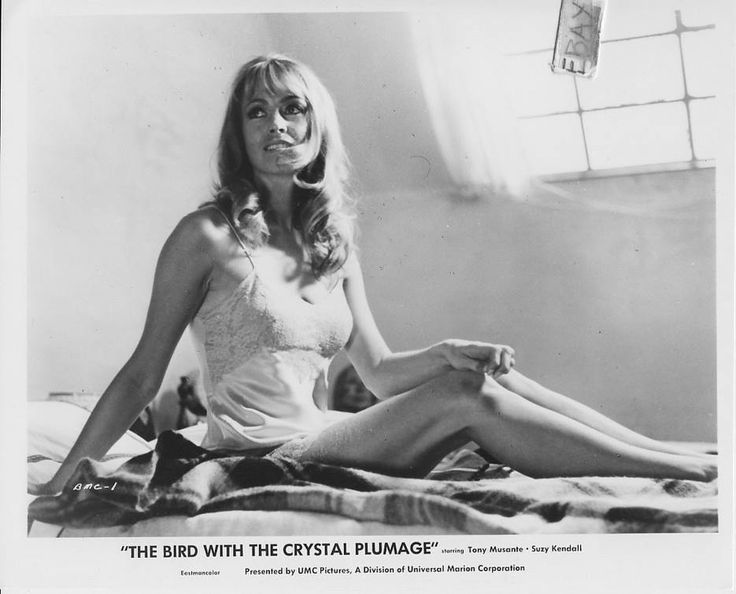 Suzy Kendall -  The Bird With the Crystal Plumage