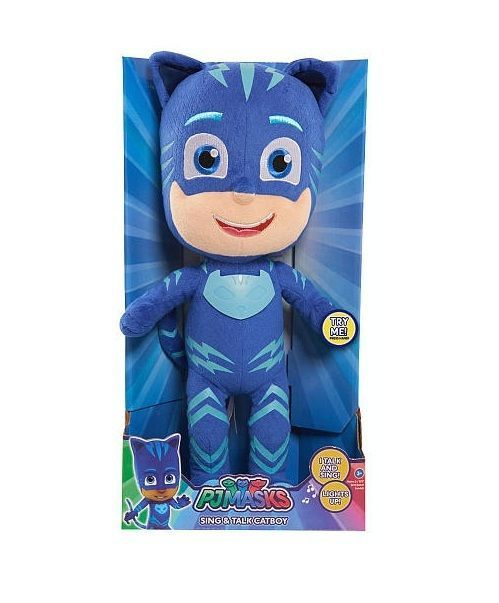PJ Masks Catboy Stuffed Toys Doll 14 inch Sing and Talk New Hot  #PJmasks