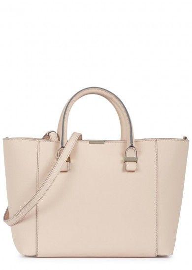 Victoria Beckham Quincy blush pink leather tote - Women @ Harvey Nichols