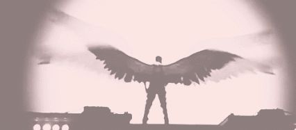 All 8 of the Swords of Avalon have great, beautiful wings. (gif)