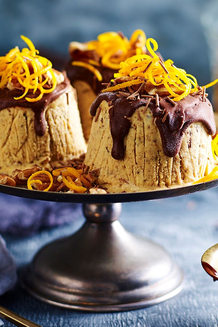 These deliciously sweet frozen puddings are perfect for a hot Australian Christmas celebration. We'll show you the quick way to make these impressive desserts with minimal effort. Recipe by the Australian Women's Weekly.