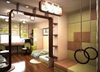 Дизайн детской комнаты для двух мальчиков1