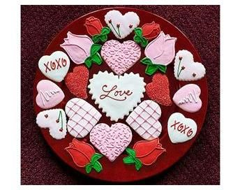 Ideas For Decorating Valentine S Day Cookies