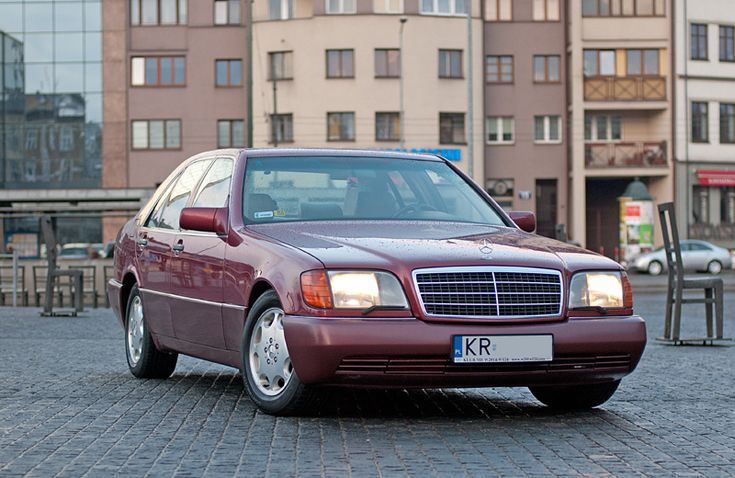 "Mercedes S350 Turbodiesel W140 - ""Almandine Rot"""