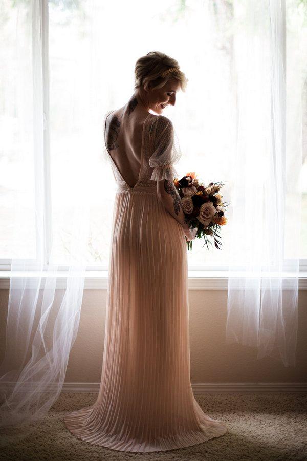 Moody PNW Boho Wedding Inspiration Outside Puyallup, WA