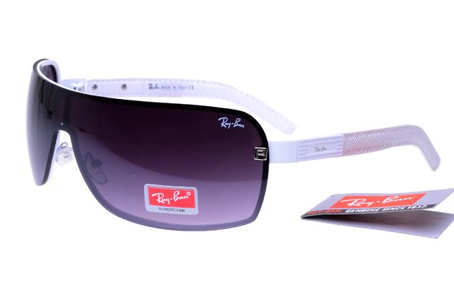Ray Ban Wayfarer In White And Pink