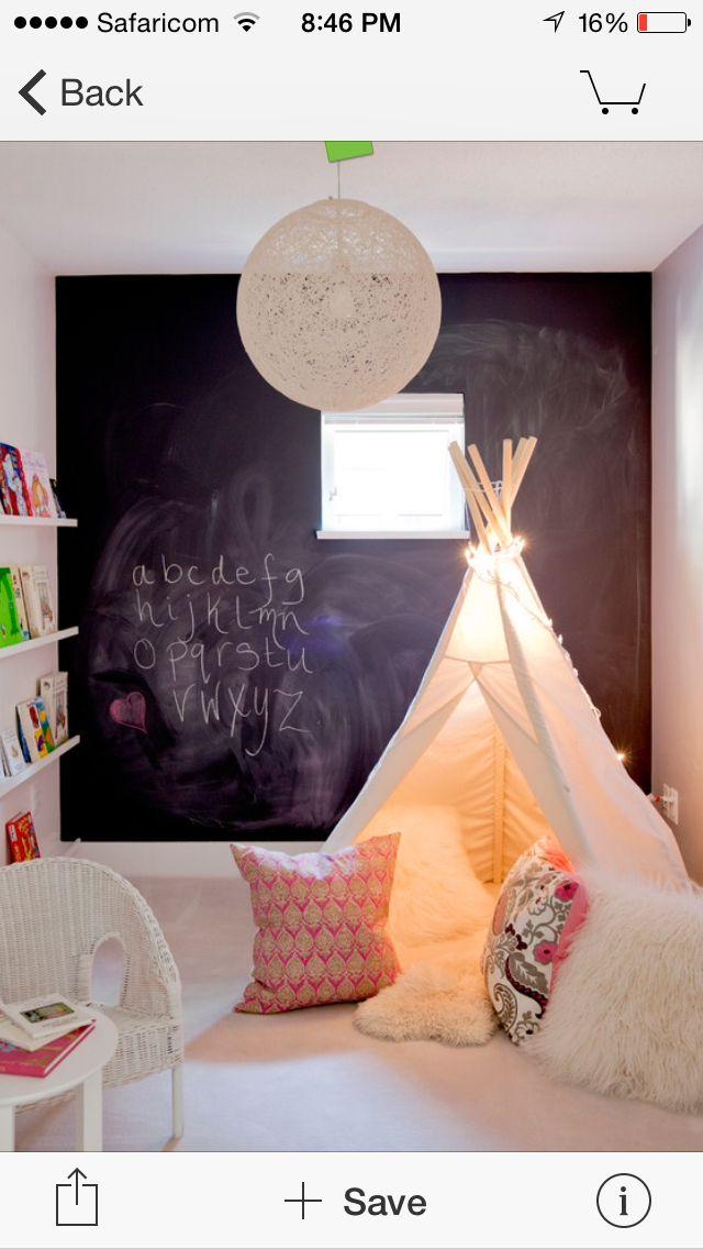 Teepee for kid's room