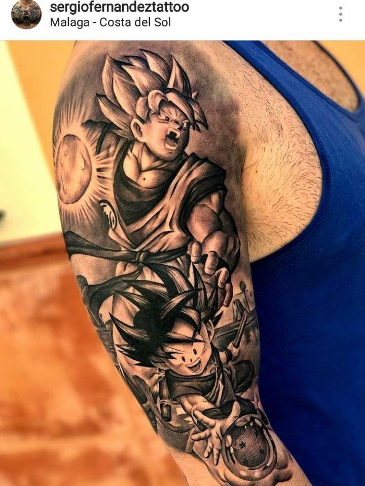 Resultado De Imagem Para Dragom Ball Tattoo Tattoo Tatuajes Goku