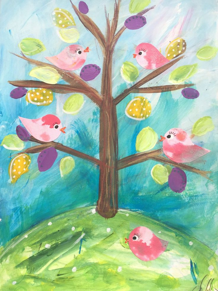 The Spring Birds by emmahiggins on Etsy https://www.etsy.com/ie/listing/271164966/the-spring-birds