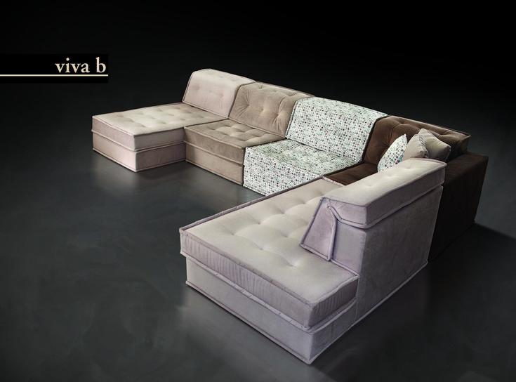 Viva γωνιακός καναπές