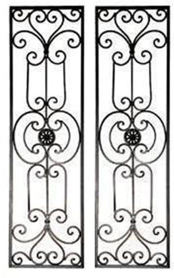 Wrought Iron And Painted Metal 2