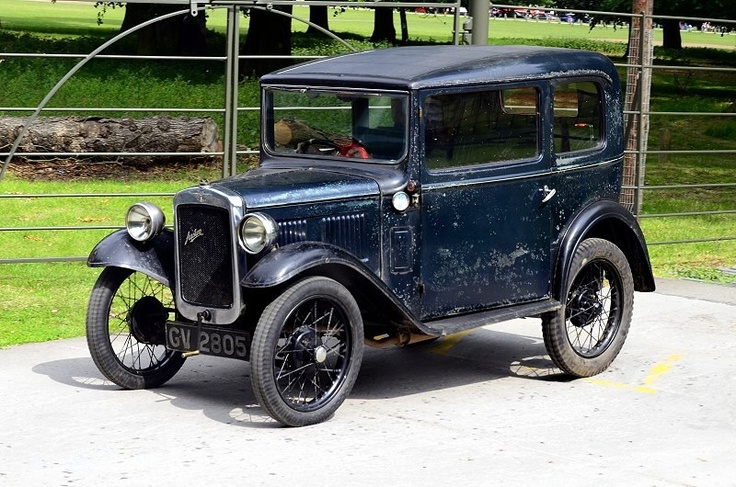 A very original looking 1934 RP Standard Saloon with what appears to be the original single solenoid dipping headlamp