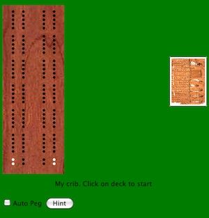 Play the game of cribbage free online at http://www.gotofreegames.com/cribbage/free_cribbage_online.htm