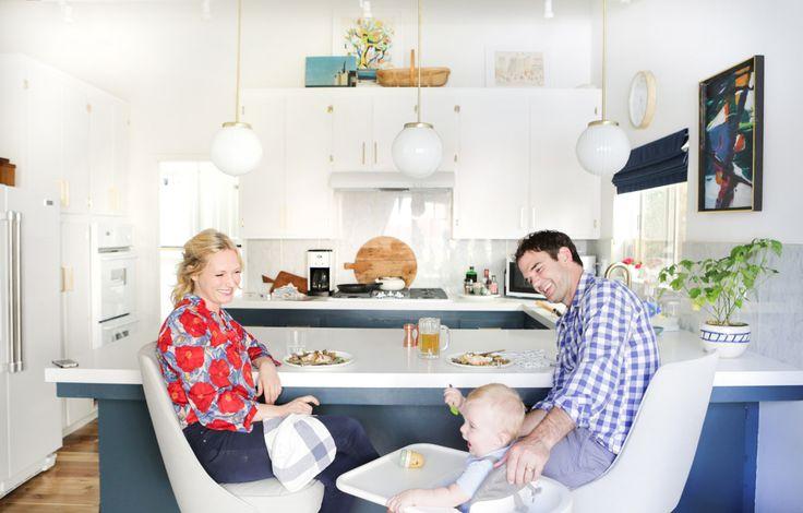 Emily Henderson White Kitchen Appliances