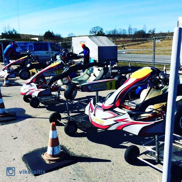 Kart racing in Aukštadvaris | Woact.com | Photo by @viksraitis
