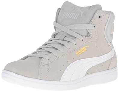 cf199f9e51ec PUMA Women s Vikky Mid Sfoam Fashion Sneaker Review