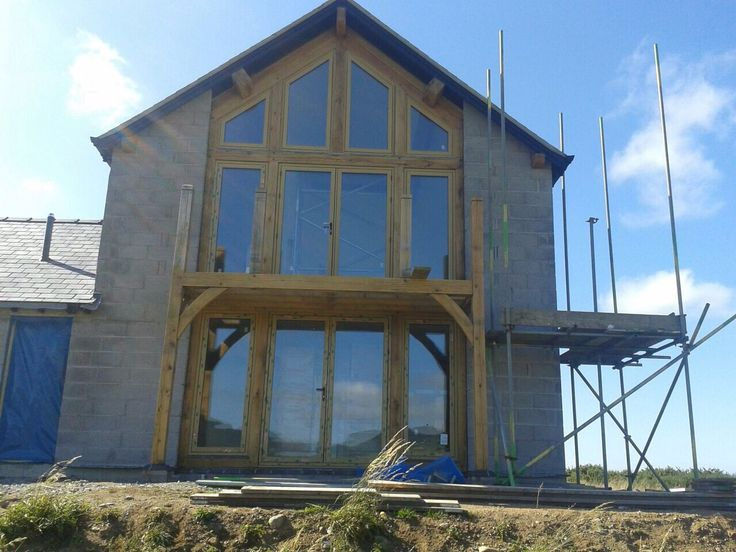 #Residence9 window installation in Window in Wales by Lumen Windows #EnglishOak