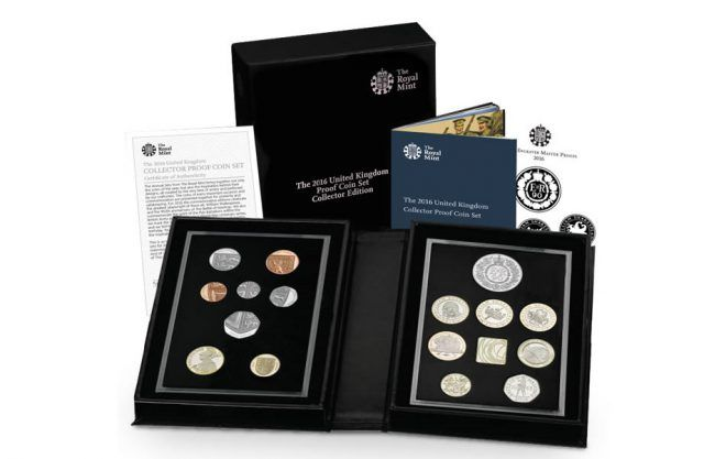 United Kingdom Collector Proof Coin Set 2016
