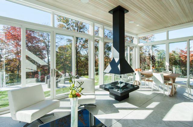 Kanadai fogadó és lakóház - együtt a természettel   design.hu