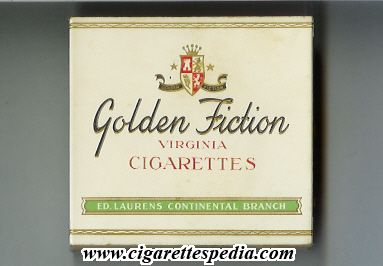 golden fiction design 1 virginia cigarettes s 20 b holland